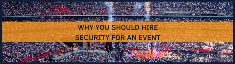 Security for an event