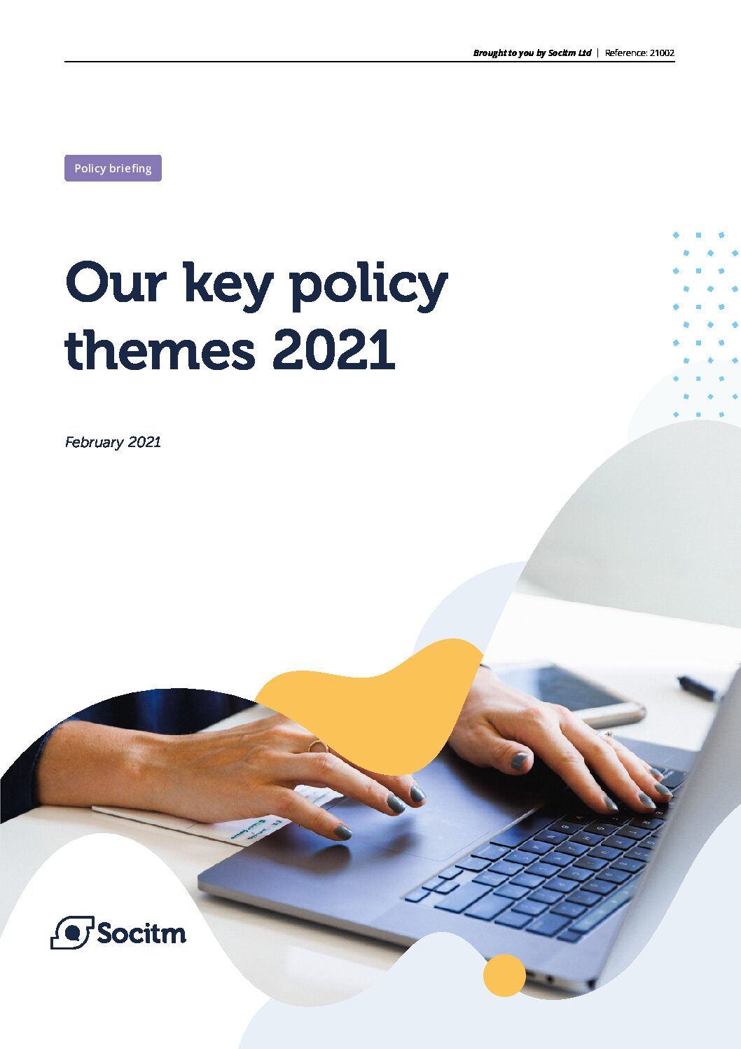 Key Policy Themes 2021 resource