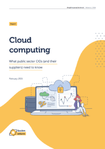 Cloud Computing report cover image