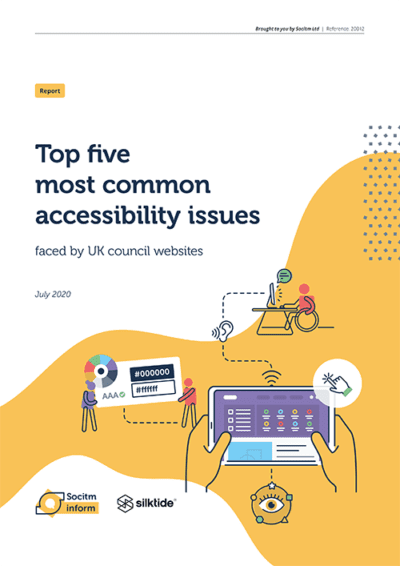 Top five most common accessibility issues
