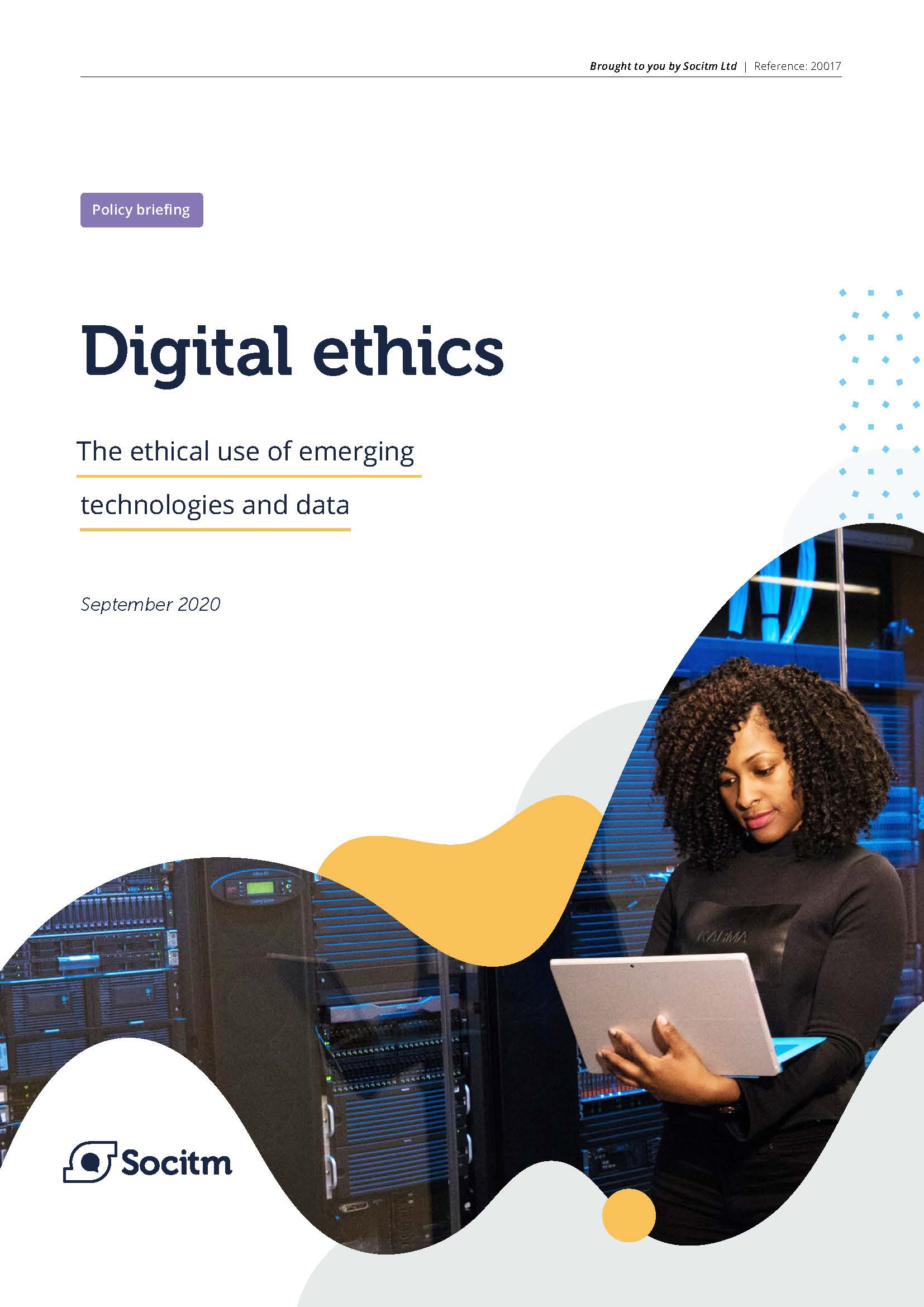 Cover image for the Digital Ethics document
