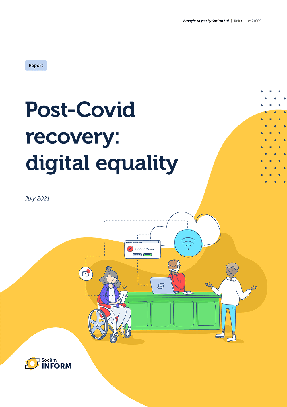 Post-Covid recovery: digital equality